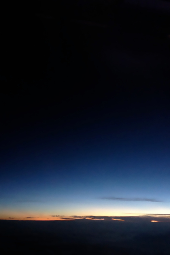sunrise over qatar